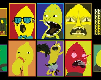 Adventure Time - Earl of Lemongrab Vol 1 Sticker 10 pk