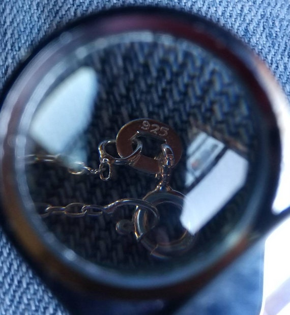 Estate Amethyst Sterling Silver Cross Pendant - image 8