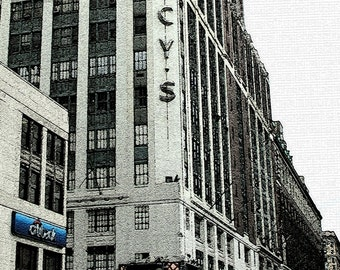Macys NYC, Architectural Photos, New York Photography, New York City Prints, Black and White, Monochrome, Architecture, NYC Art