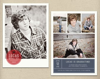 high school graduation announcement etsy