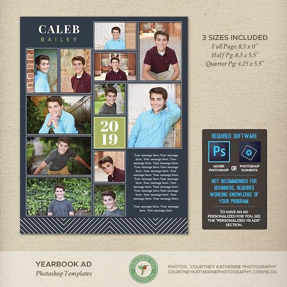 senior yearbook ad photoshop templates graduation ad high. Black Bedroom Furniture Sets. Home Design Ideas