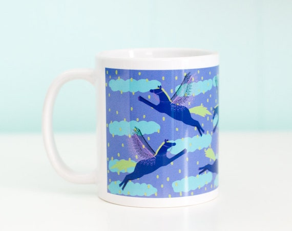 Pegasus Horse Coffee Mug- NEPTUNE