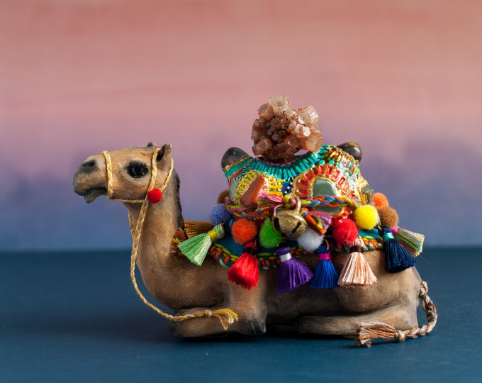 The Carrier of Strength in Transition: Dromedary Camel Sacred Sculpture | A Creature of One Wilderness