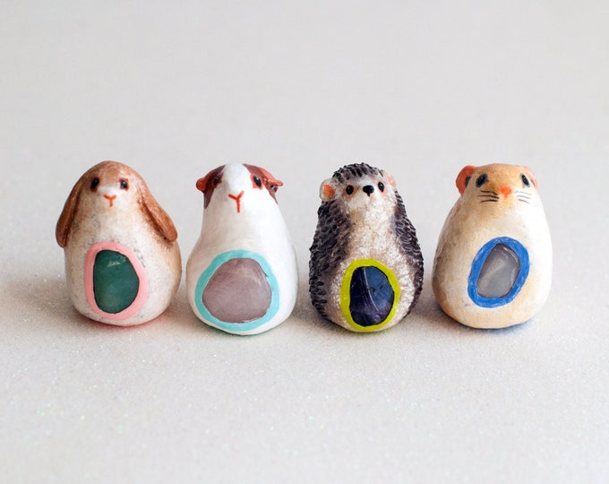 Lucky Plumps: Rub for Good Luck |  Now You Can Customize! | Choose Your Lucky Small Pet Figurine