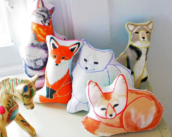Choose Your Fox Plushie