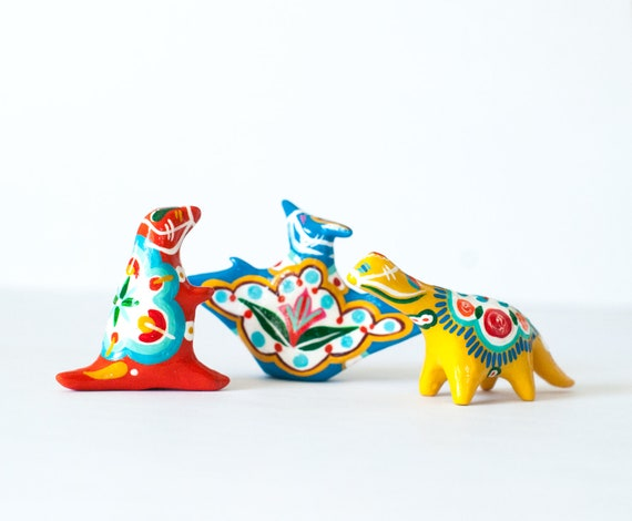 Dala Dinosaurs | Scandinavian Design | Choose from 3 Different Dinosaurs | Folk Art
