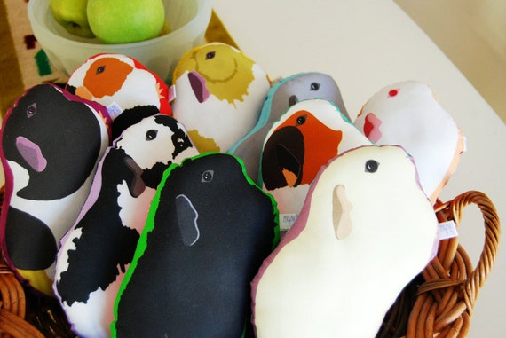 Choose Your Guinea Pig Plushie / Guinea Pig Pillow / Plush / Soft Sculpture / Original Illustration- NEW Guinea Pigs Added!