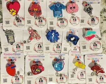 Miscellaneous Medical Badge Reels