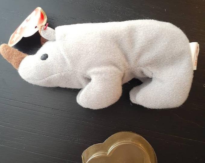 Beanie Baby Teenie Beanie Spike Rhinoceros 1999