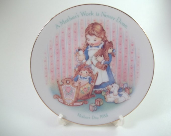 1988 Avon Mother decorative plate gift