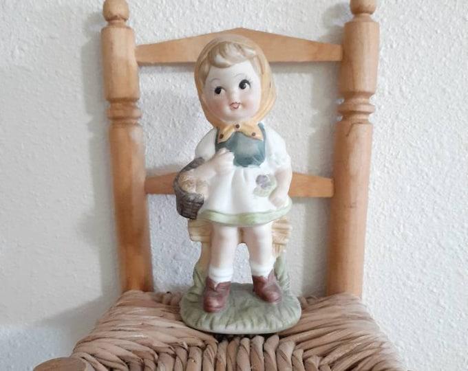 Girl figurine vintage