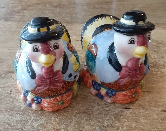 Turkey Salt Pepper Shakers