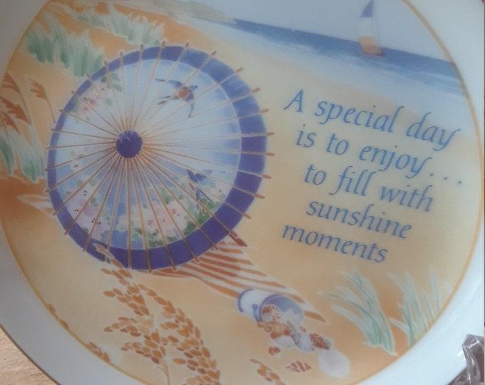 Plate Lasting Memories Beach