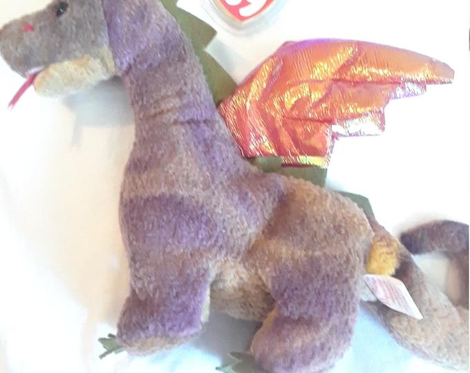 Beanie Baby Scorch the Dragon Rare Retired