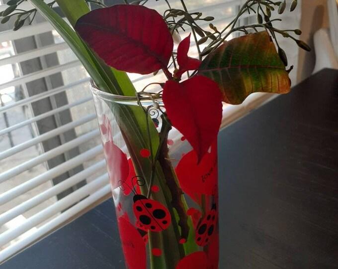 Valentine's day Vase love