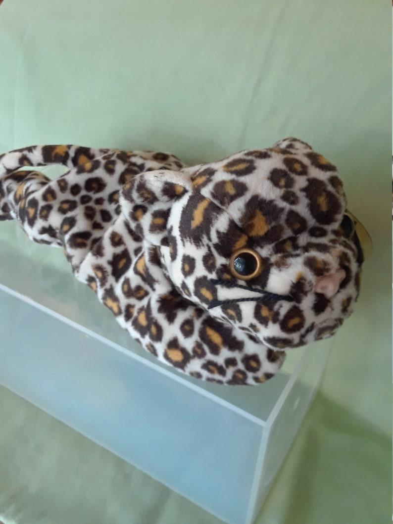 1f8bab98fd0 BEANIE FRECKLES Baby Leopard DOB 6.3.96 Rare Tag Errors Mint