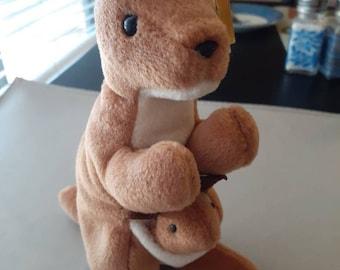 Beanie Baby Pouch Kangaroo