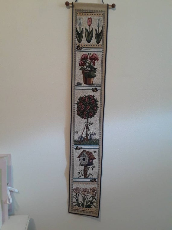 Wall hanging tapestry scroll
