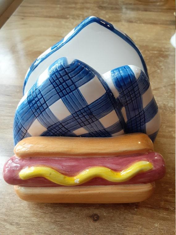 Hotdog Napkin holder 1998