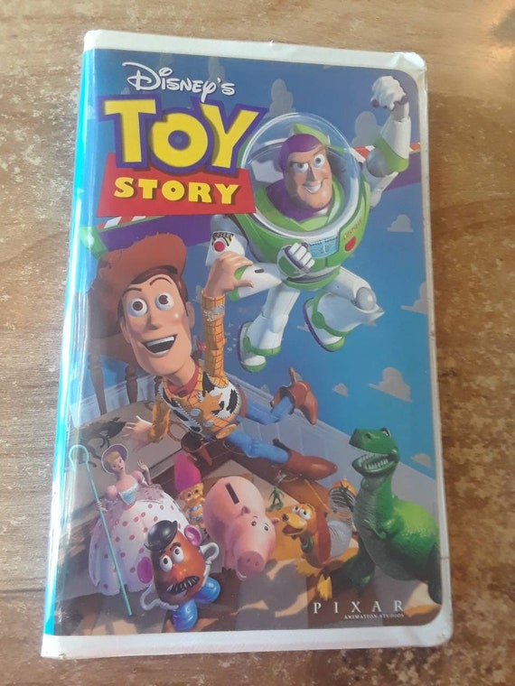 Toy Story Original VHS Tape 1995
