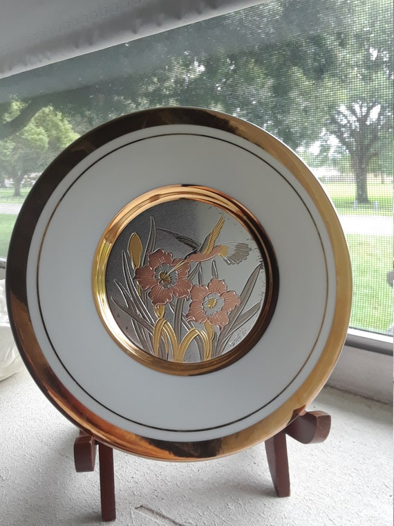 Chokin Plate Hummingbird