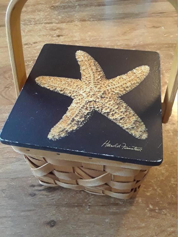 Harold Feinstein Starfish basket