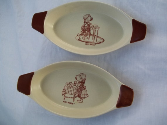 Casserole Dishes Rare Holly Hobbie 70s small