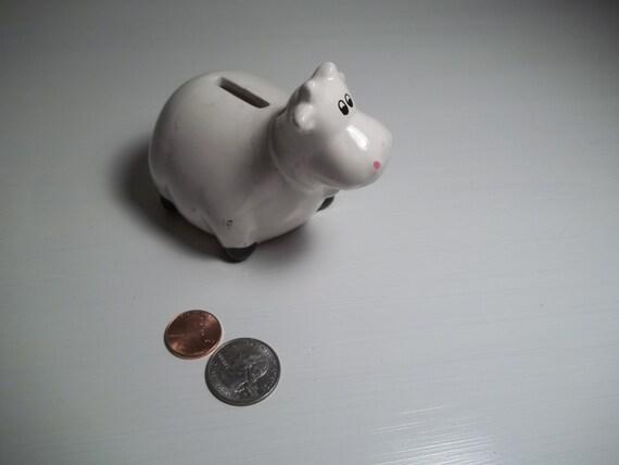 BANK Milk Money vintage Moo Cow