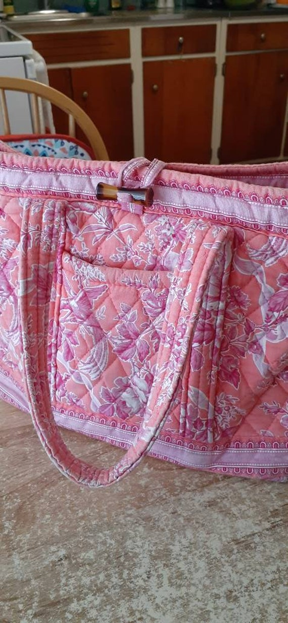 Vera Bradley flowered shoulderbag