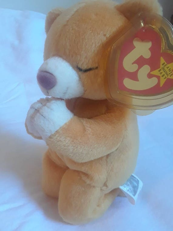 Beanie Baby Hope Original 1998 tag error