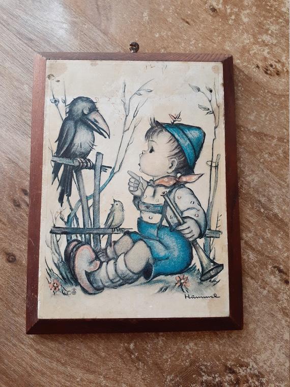 Blue Boy Hummel Print