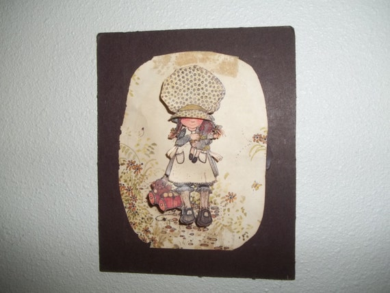 Holly Hobbie Papertole 3D Cutout Picture