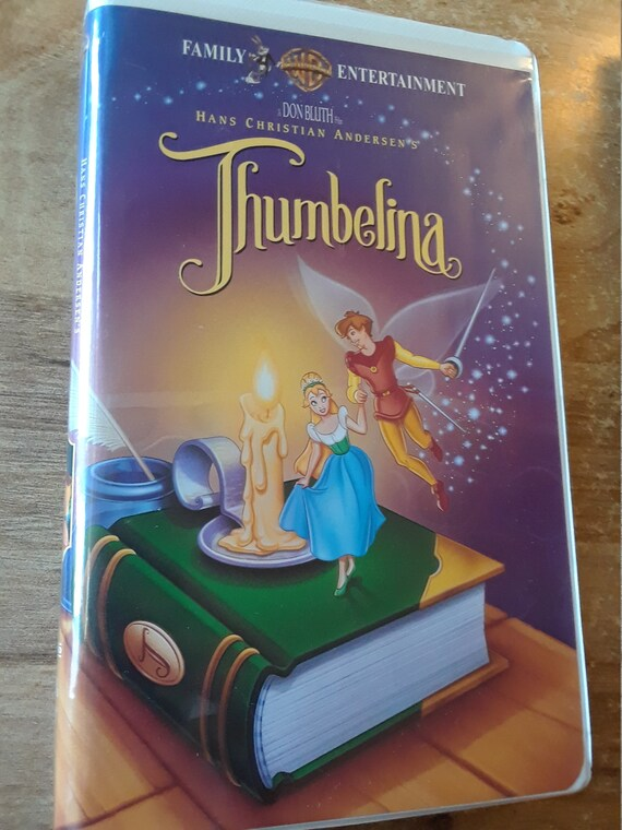 Thumbelina MOVIE on VHS tape
