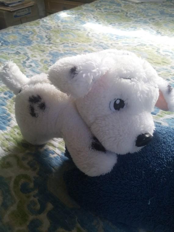 Dalmatian Puppy Dog 1991 Walt Disney Mattel Stuffed Animal