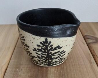 Pine Tree Cream Carafe Creaner