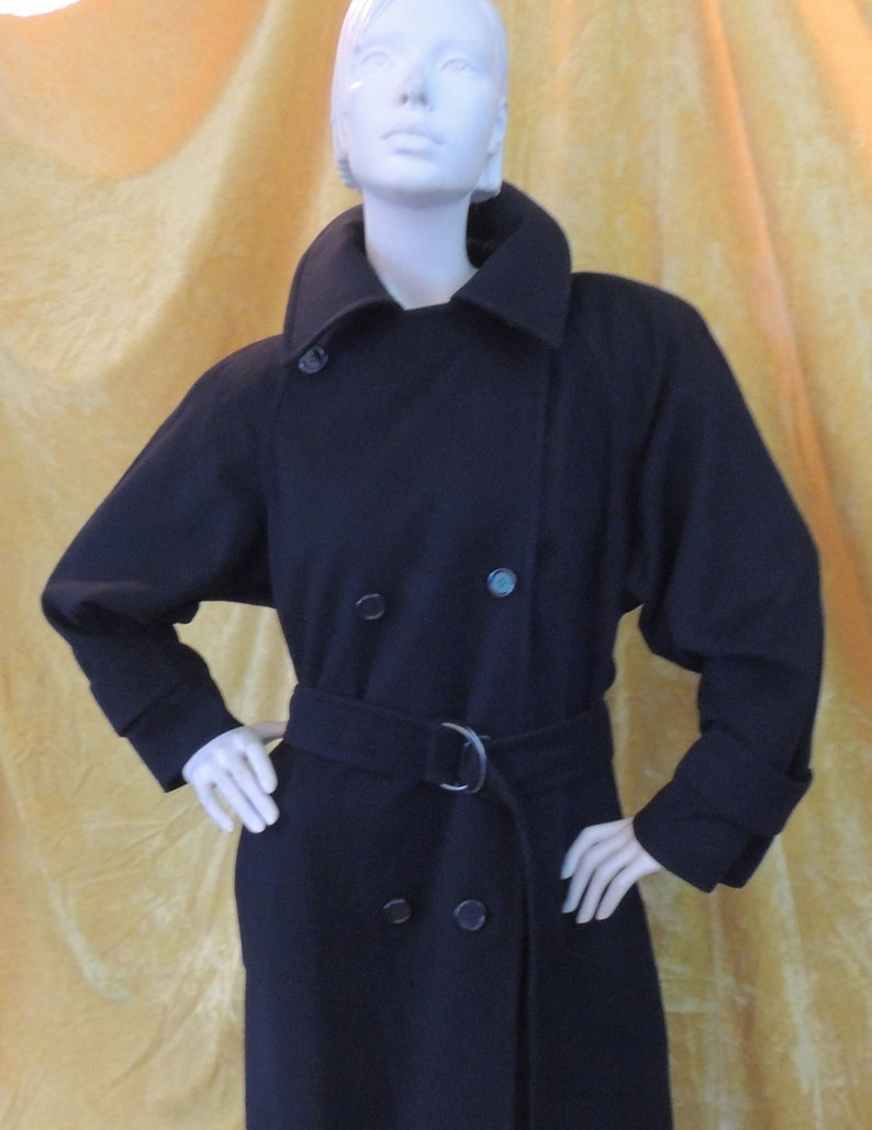 9a48a0fee79 YSL Variation WOOL Trenchcoat/EXCELLENT/Yves Saint Laurent | Etsy