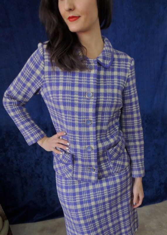 Saks Fifth Ave Italian Knit Suit/Heavy Smooth Knit