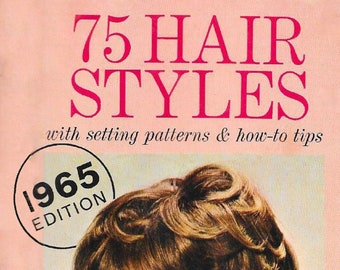 75 Hair Styles Booklet 1965 Edition