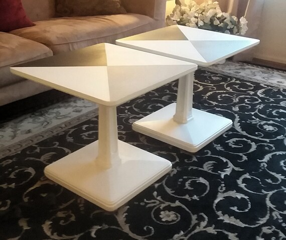 Set Of Mid Century Modern Coffee Table Or End Tables Etsy