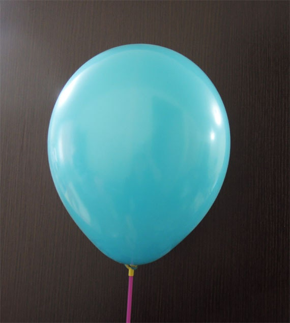Air Balloons-Round Balloons Ø 30cm Turquoise