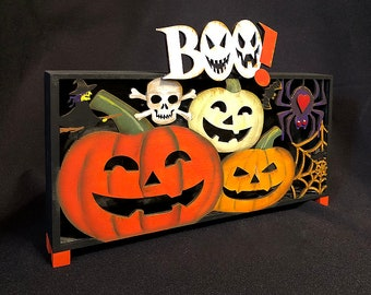 New - BOO ELECTRIC BOX: An Led Electric Halloween Light That Flashes Light