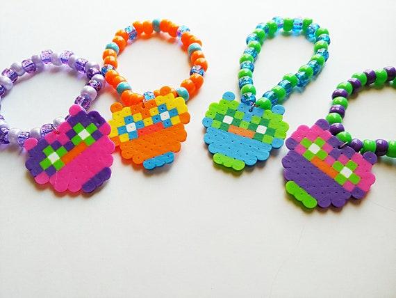EDC Necklace And Charm Perler Bracelet