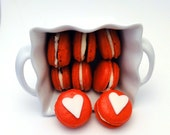 French Macaron Valentine Gluten Free 7 pcs LIMITED EDITION