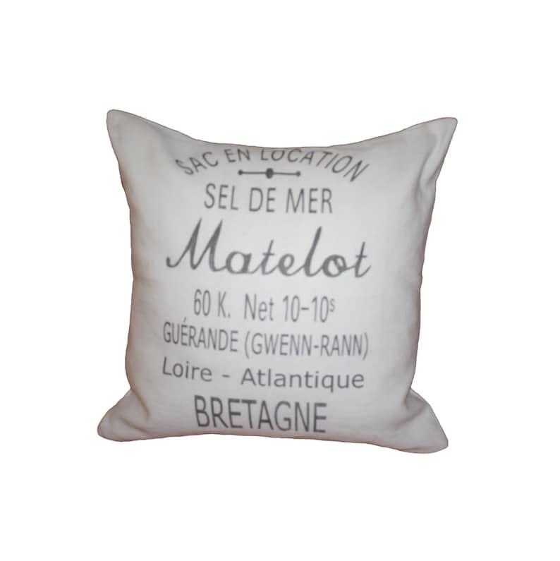 d2de0a3636a Grain Sack Pillow French Country Vintage Linen Grain Sack
