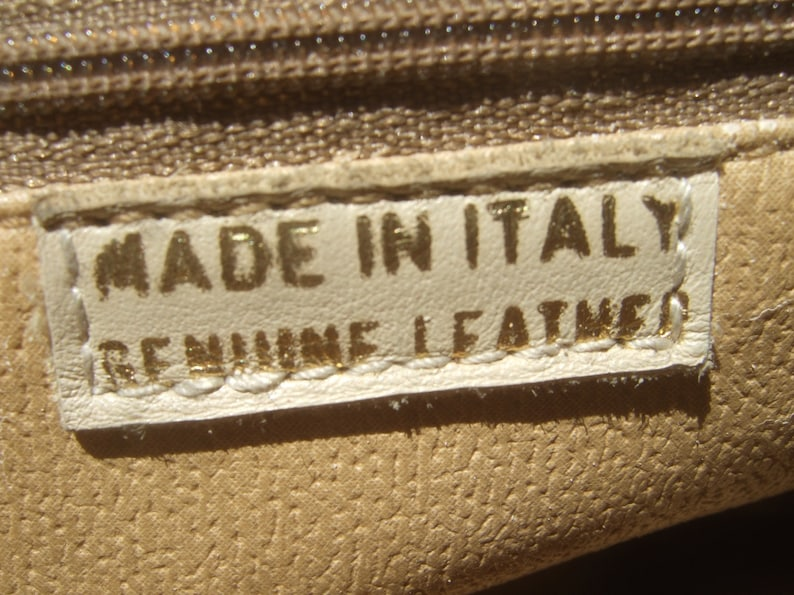 Italian Black leather Backpackhandbag