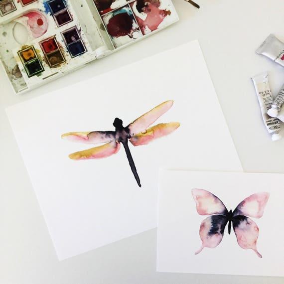 Schwedische Kinderpantoffeln im Libelle Design für Jungen
