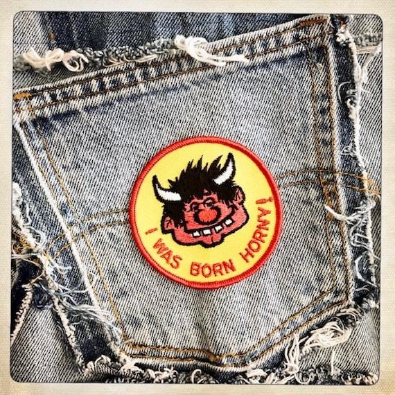 HORNDOG! 'I Was Born HORNY!' Round Devilish Guy P… - image 3