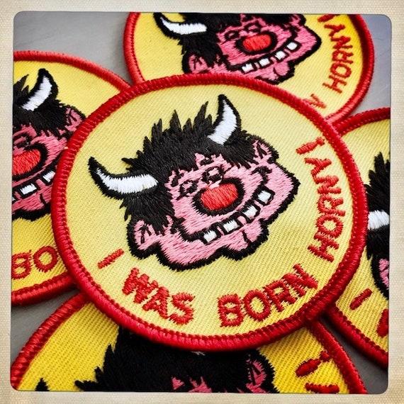 HORNDOG! 'I Was Born HORNY!' Round Devilish Guy P… - image 6