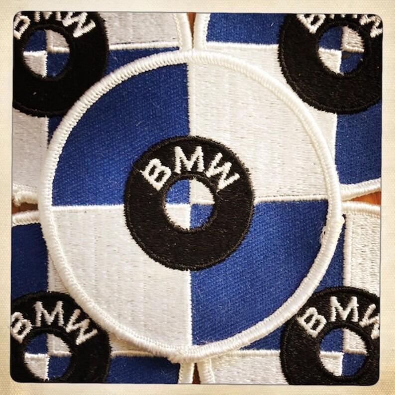 Vintage BMW Logo Motorcycle Car pin badge 1960s Germany Bayerische Motoren Werke