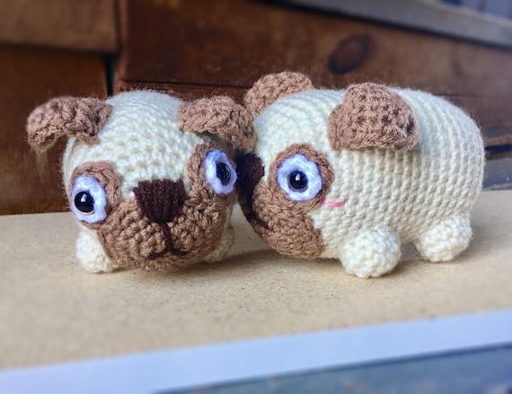 Ravelry: Baby Pug Dog pattern by Amigurumi Today | 439x570